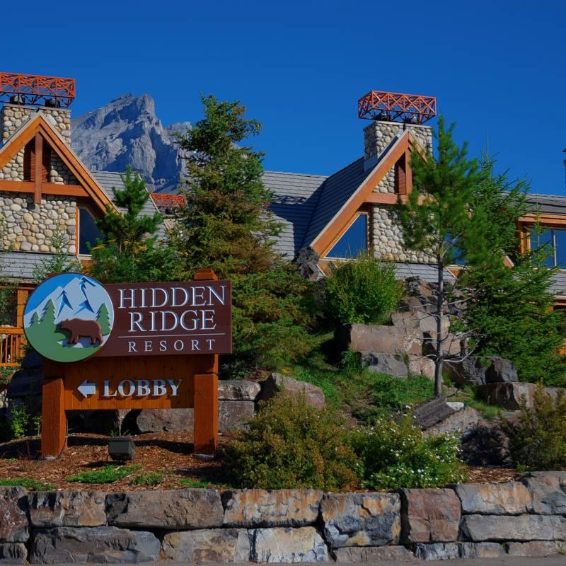 hidden ridge resort banff alberta frontier canada. Black Bedroom Furniture Sets. Home Design Ideas