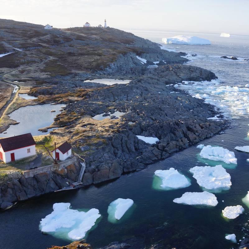 Terrific Quirpon Lighthouse Inn Quirpon Island Newfoundland Interior Design Ideas Ghosoteloinfo