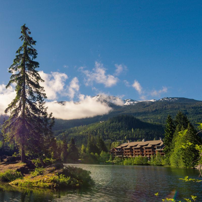 Lakes In Bc Canada: Whistler, British Columbia