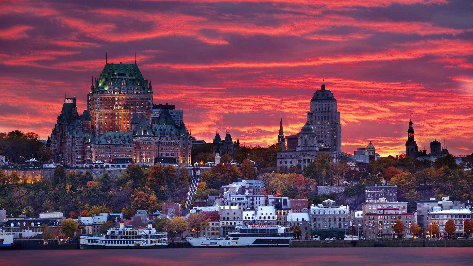 Quebec City Break | A Whale's Tail and Two Cities ...